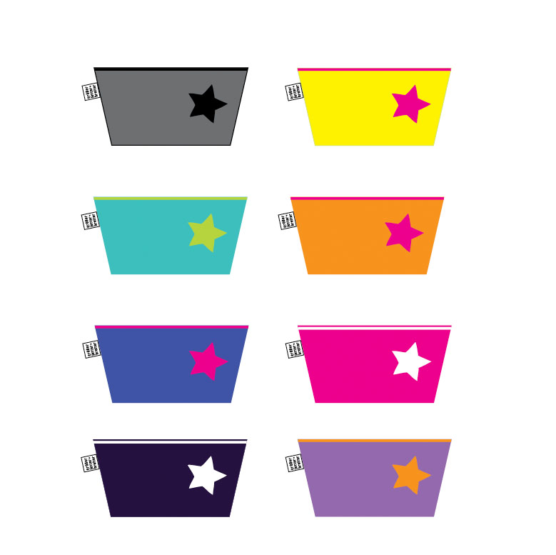 Utensil-groß-Farben